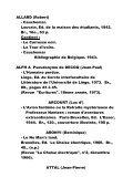 """collection """"Bibliographia Belgica"""", N°135. - IDES et Autres - Page 2"""