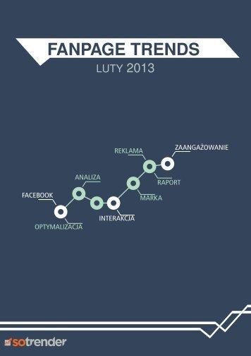 Fanpage Trends Luty 2013 | sotrender.com