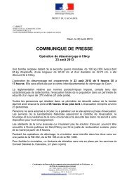 communiqué et les cartes - Les services de l'État dans le Calvados