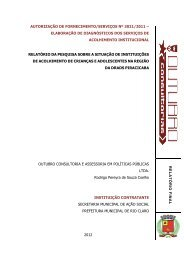 Relatorio Consolidado DRADS Piracicaba - Secretaria de ...