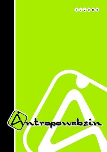 Antropowebzin 1/2009