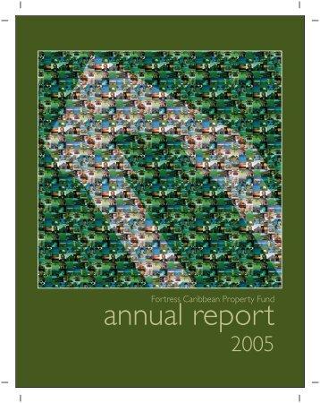 Annual Report, 2005 - Fortress Mutual Fund Ltd