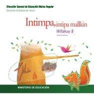 intipa mallkin - La Educación Básica Regular - EBR - Ministerio de ...