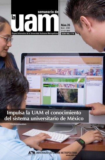 Impulsa la UAM el conocimiento del sistema universitario de México