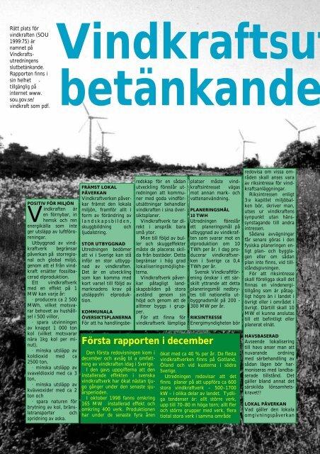 vindkraftutredningen - Novator