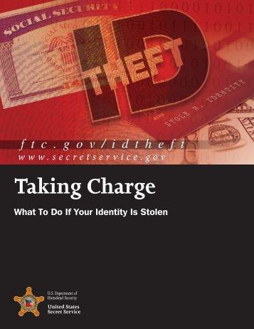 Take Charge - United States Secret Service