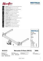 09.4212 Mercedes E-Klass (W212) 2009-