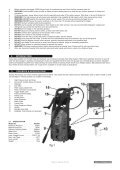 PRESSURE WASHER 120bar with ROTABLAST NOZZLE ... - Sealey - Page 2