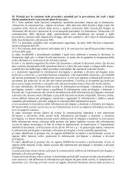 19. Principi per la redazione delle procedure aziendali per la ... - Rdb