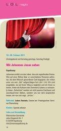 Mit Johannes Jesus sehen - Ausbildungs & Tagungszentrum ...