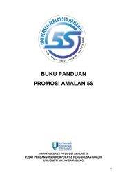 buku panduan promosi amalan 5s - Universiti Malaysia Pahang