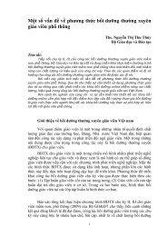 Bài toàn văn_Phiên 9- Cán bộ quản lý- Nguyễn Thị Thu Thủy - VVOB