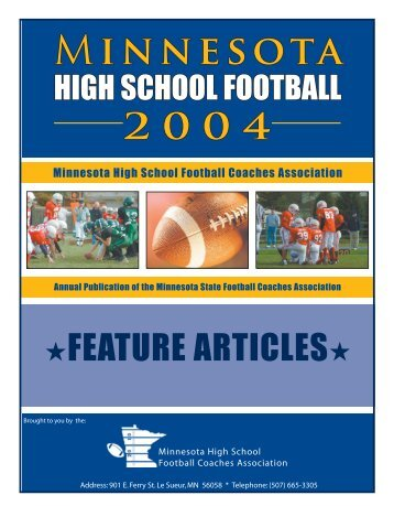 feature articles - mshsca