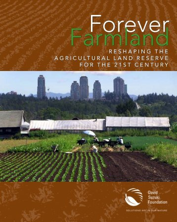 Forever Farmland - David Suzuki Foundation