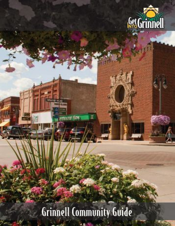 Grinnell Community Guide - Grinnell Iowa Chamber of Commerce