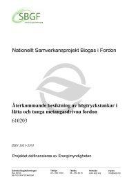 SBGF610203 Återkommande besiktning av högtryckstankar i ... - SGC