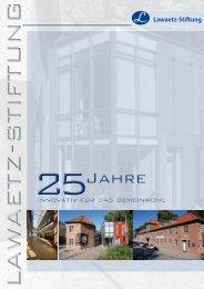25 Jahre Lawaetz-Stiftung 2011