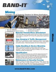 B747-MRO Mining Applications for BAND-IT® Products