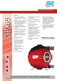 Bredel SPX65 - Watson-Marlow