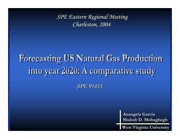 SPE 91413 SPE Eastern Regional Meeting Charleston, 2004