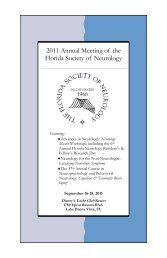 2011 Annual Meeting of the Florida Society of