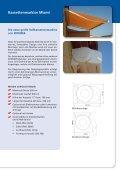 Gelenkarmmarkisen - Oskar Widmer GmbH - Seite 2