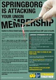 direct debit fyer D4www.pdf - The Australian Workers Union