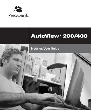 AutoView 200/400 - 42U.com