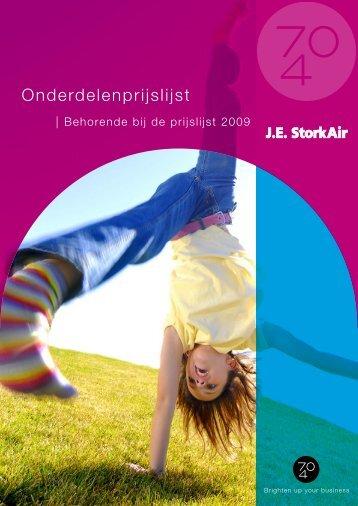 Onderdelenprijslijst - J.E. StorkAir