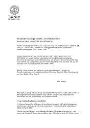 Föreskrifter om val på områdes- och institutionsnivå