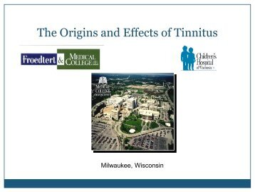 The Origins and Effects of Tinnitus