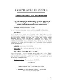 Télécharger le compte-rendu de séance - Saint-Priest