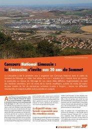 Concours National Limousin : la Limousine s'invite ... - Limousine.org