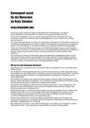 Konsequent sozial - DIE LINKE. Kreisverband Steinfurt