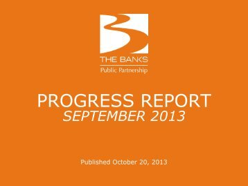 september 2013 monthly report (pdf, 2 mb) - The Banks Public ...