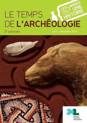 l'archéologie - Conseil général des Landes