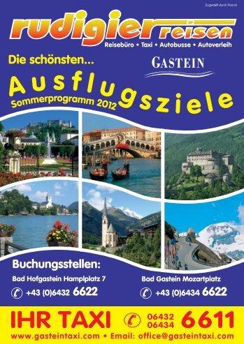 Das neue Sommerprogramm 2012 - Rudigier Reisen