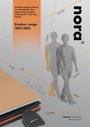 Product range 2011/201 2 - nora-schuh