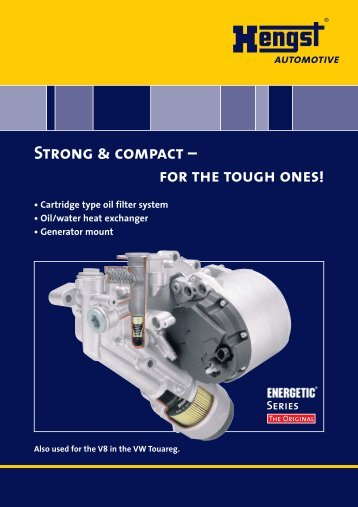 Strong & compact - Hengst GmbH & Co. KG