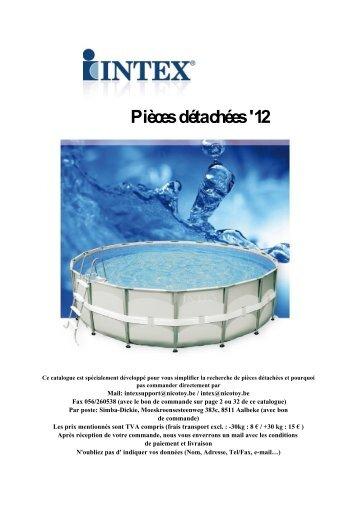 Catalogue pièces 2012 FR consommateurs - Nicotoy