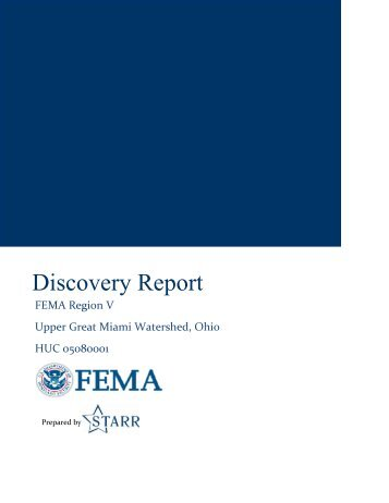 Discovery Report - Ohio Department of Natural Resources
