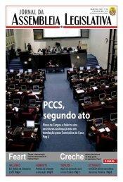 PCCs, segundo ato - Assembléia Legislativa do Estado do Pará