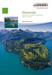 Info Region Klewenalp Sommer 2012 - Panorama Klewenalp