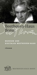 museum und digitales beethoven-haus - Beethoven-Haus Bonn