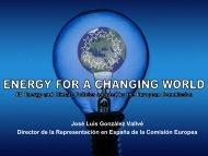 Energy - Comisión Nacional de Energía