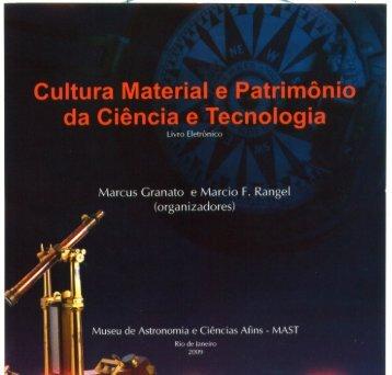 Cultura Material e Patrimônio da Ciência e Tecnologia - Museu de ...