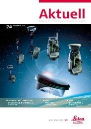 aktuell 24 (pdf, 4,1 mb) - Leica Geosystems