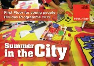 Summer in the City - West Yorkshire Playhouse