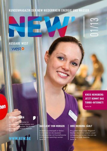 Download Ausgabe 01/2013 - NEW AG