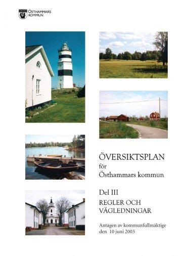 Del III.pdf - Östhammars kommun